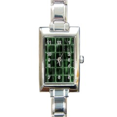 Matrix Earth Global International Rectangle Italian Charm Watch