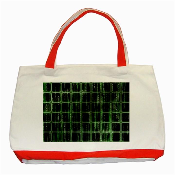 Matrix Earth Global International Classic Tote Bag (Red)