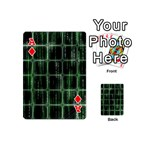 Matrix Earth Global International Playing Cards 54 (Mini)  Front - DiamondA