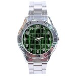 Matrix Earth Global International Stainless Steel Analogue Watch