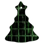 Matrix Earth Global International Christmas Tree Ornament (Two Sides)
