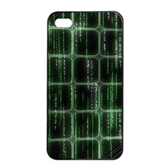 Matrix Earth Global International Apple Iphone 4/4s Seamless Case (black) by Nexatart
