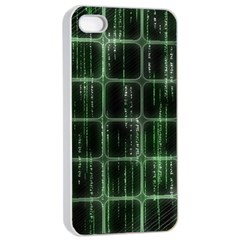 Matrix Earth Global International Apple Iphone 4/4s Seamless Case (white) by Nexatart