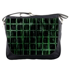 Matrix Earth Global International Messenger Bags