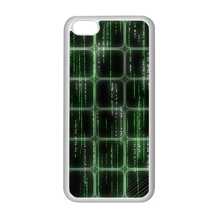 Matrix Earth Global International Apple iPhone 5C Seamless Case (White)