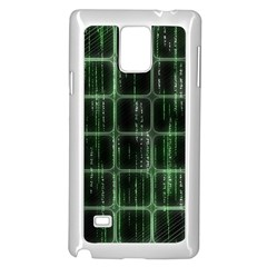Matrix Earth Global International Samsung Galaxy Note 4 Case (White)