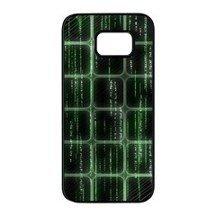 Matrix Earth Global International Samsung Galaxy S7 Edge Black Seamless Case