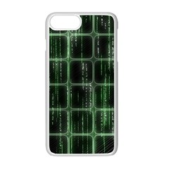 Matrix Earth Global International Apple iPhone 7 Plus White Seamless Case