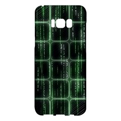 Matrix Earth Global International Samsung Galaxy S8 Plus Hardshell Case  by Nexatart