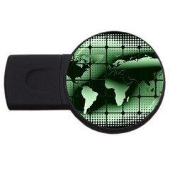 Matrix Earth Global International Usb Flash Drive Round (2 Gb) by Nexatart