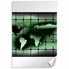 Matrix Earth Global International Canvas 20  X 30