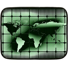 Matrix Earth Global International Fleece Blanket (mini)