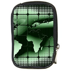 Matrix Earth Global International Compact Camera Cases by Nexatart