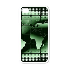 Matrix Earth Global International Apple Iphone 4 Case (white) by Nexatart
