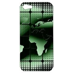 Matrix Earth Global International Apple Iphone 5 Hardshell Case by Nexatart