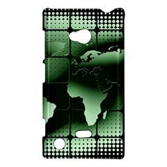 Matrix Earth Global International Nokia Lumia 720 by Nexatart