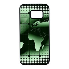 Matrix Earth Global International Samsung Galaxy S7 Black Seamless Case