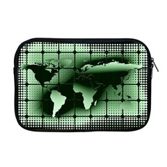 Matrix Earth Global International Apple Macbook Pro 17  Zipper Case by Nexatart