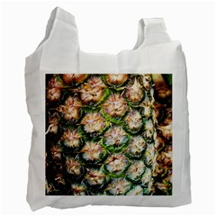 Pineapple Texture Macro Pattern Recycle Bag (one Side)