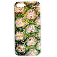 Pineapple Texture Macro Pattern Apple Iphone 5 Hardshell Case With Stand by Nexatart