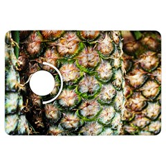 Pineapple Texture Macro Pattern Kindle Fire Hdx Flip 360 Case by Nexatart