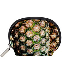 Pineapple Texture Macro Pattern Accessory Pouches (small)