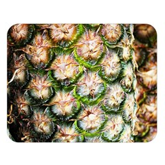 Pineapple Texture Macro Pattern Double Sided Flano Blanket (large)  by Nexatart