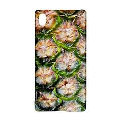 Pineapple Texture Macro Pattern Sony Xperia Z3+