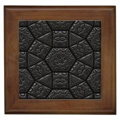 Tile Emboss Luxury Artwork Depth Framed Tiles