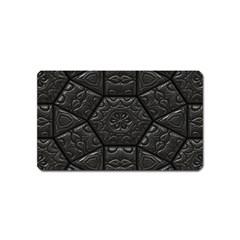 Tile Emboss Luxury Artwork Depth Magnet (name Card)