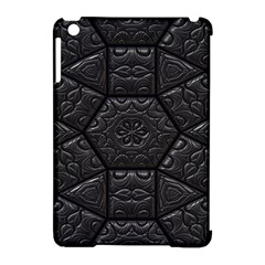Tile Emboss Luxury Artwork Depth Apple Ipad Mini Hardshell Case (compatible With Smart Cover)