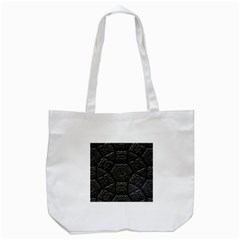 Tile Emboss Luxury Artwork Depth Tote Bag (white) by Nexatart