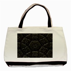 Tile Emboss Luxury Artwork Depth Basic Tote Bag (two Sides)