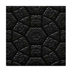 Tile Emboss Luxury Artwork Depth Face Towel