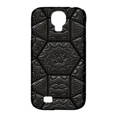 Tile Emboss Luxury Artwork Depth Samsung Galaxy S4 Classic Hardshell Case (pc+silicone) by Nexatart