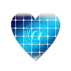 Tile Square Mail Email E Mail At Heart Magnet by Nexatart