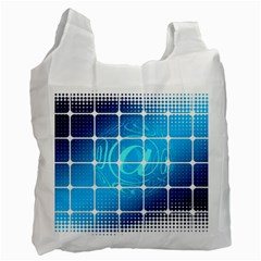 Tile Square Mail Email E Mail At Recycle Bag (one Side)