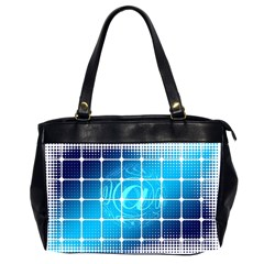 Tile Square Mail Email E Mail At Office Handbags (2 Sides)  by Nexatart