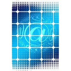Tile Square Mail Email E Mail At 5 5  X 8 5  Notebooks by Nexatart