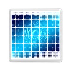 Tile Square Mail Email E Mail At Memory Card Reader (square)  by Nexatart