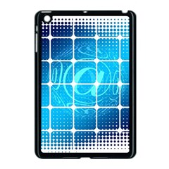 Tile Square Mail Email E Mail At Apple Ipad Mini Case (black)