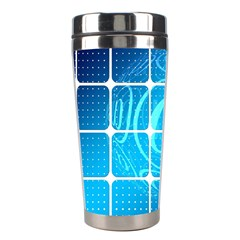 Tile Square Mail Email E Mail At Stainless Steel Travel Tumblers by Nexatart