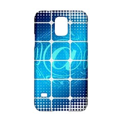 Tile Square Mail Email E Mail At Samsung Galaxy S5 Hardshell Case