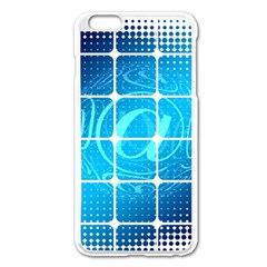 Tile Square Mail Email E Mail At Apple Iphone 6 Plus/6s Plus Enamel White Case