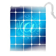 Tile Square Mail Email E Mail At Drawstring Pouches (xxl) by Nexatart