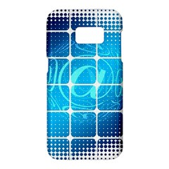 Tile Square Mail Email E Mail At Samsung Galaxy S7 Hardshell Case