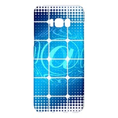 Tile Square Mail Email E Mail At Samsung Galaxy S8 Plus Hardshell Case