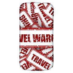 Travel Warning Shield Stamp Samsung Galaxy S3 S Iii Classic Hardshell Back Case by Nexatart