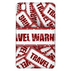 Travel Warning Shield Stamp Samsung Galaxy Tab Pro 8 4 Hardshell Case