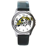Navy Midshipmen -  Round Metal Watch